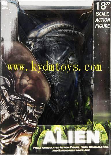 MOQ(USD300) NECA 18 anime pvc figure of Alien (pc) ky3341
