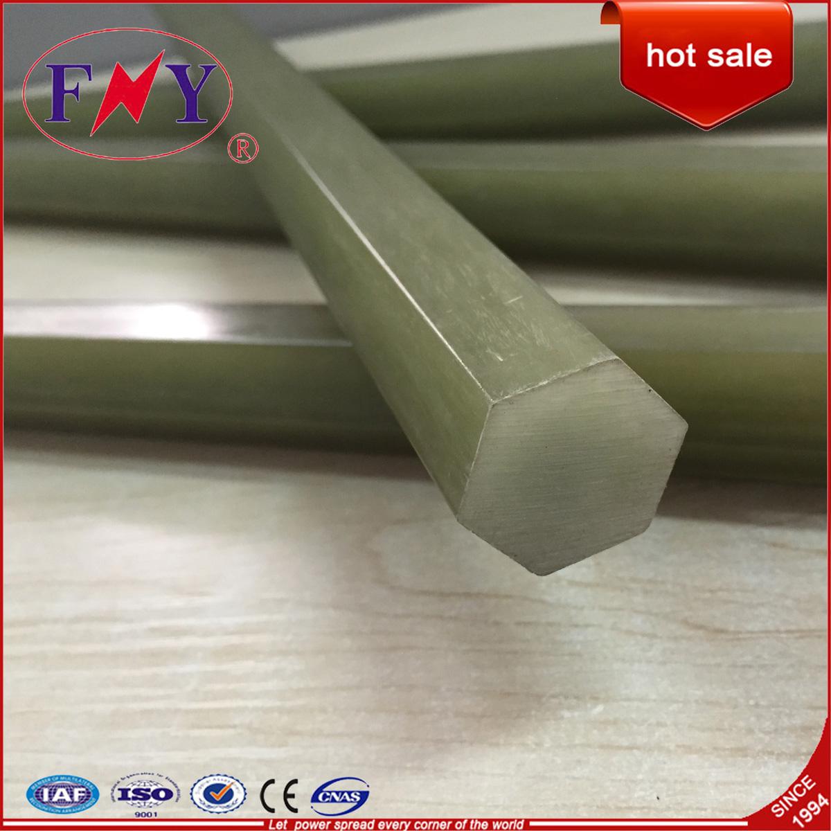 Hexagonal Rod/High Voltage Fiberglass Rod