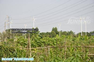 Wind Solar power system 400W