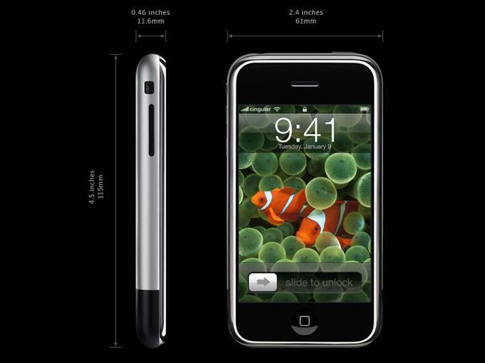 Dual SIM Card 16GB Iphone Style Mobile