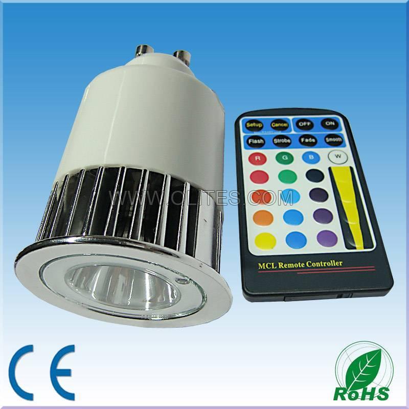15W High Power RGB LED Spotlight