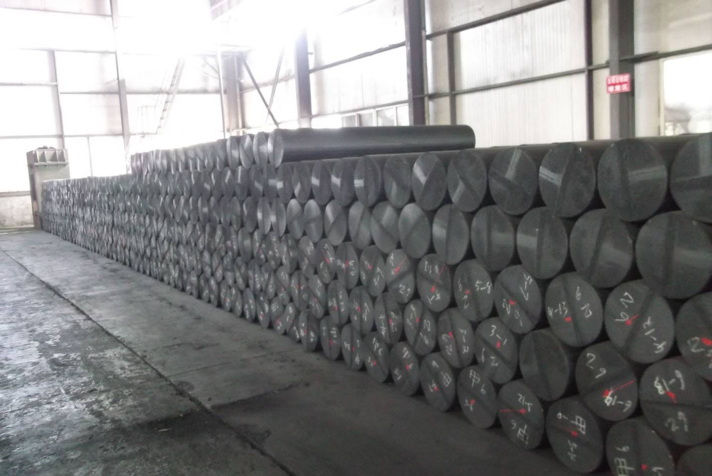 Supply:Graphite Electrodes and detailed structure graphite block
