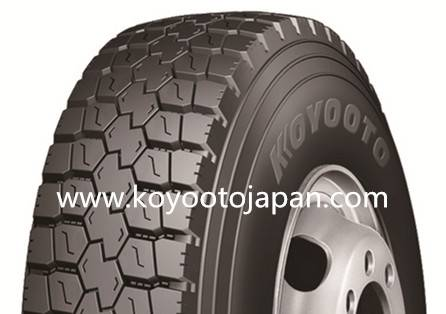 Radial Truck Tire Koyooto Brand KT202 Sizes 10.00R20, 11.00R20, 12R22.5