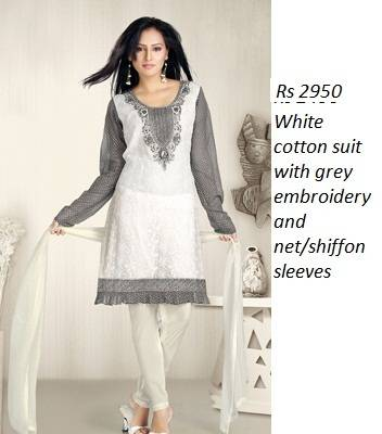 Cotton Embroidery Suits