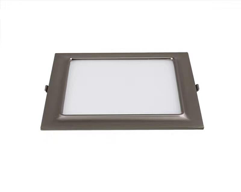 LED panel light round or square for commercial lighting