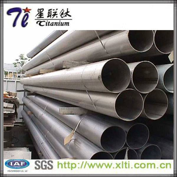 Supply Coll Roll Gr1 Gr2 ASTM B338 Weld Titanium Pipe