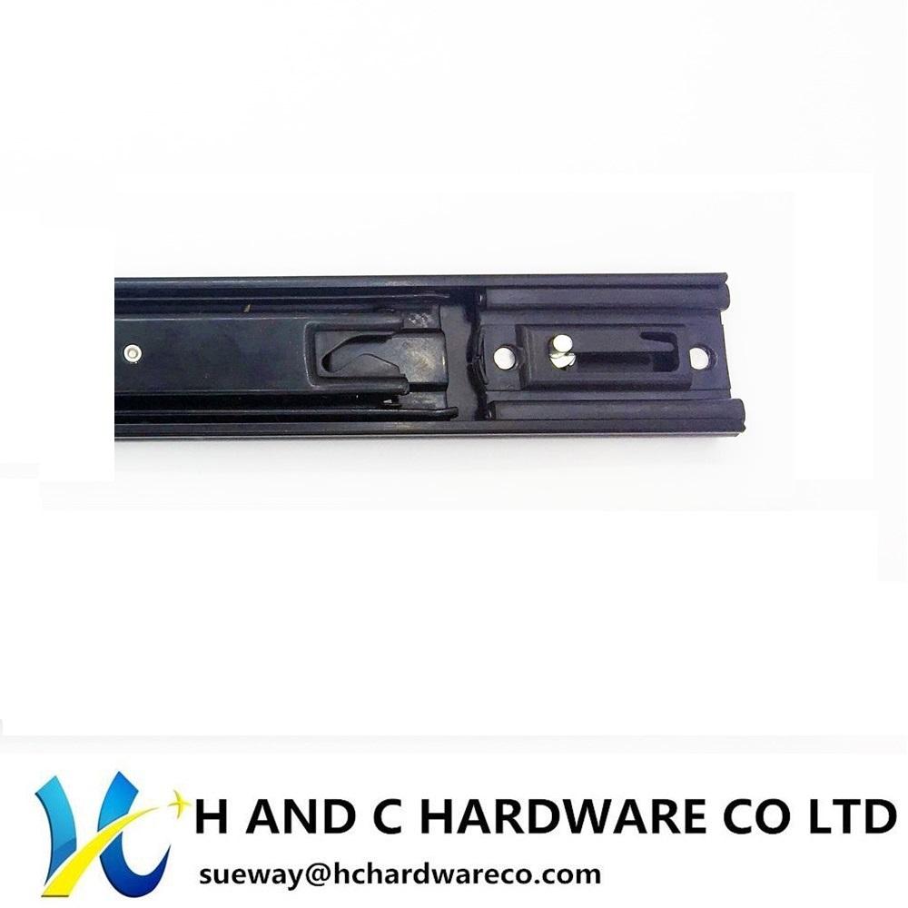 Ball Bearing Full Extension Side Rail Self Closing Drawer Slide HH4505