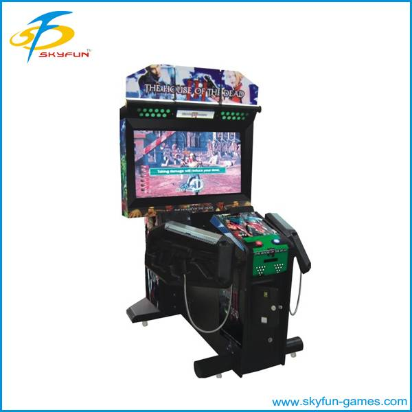 arcade electronic shooting game machine