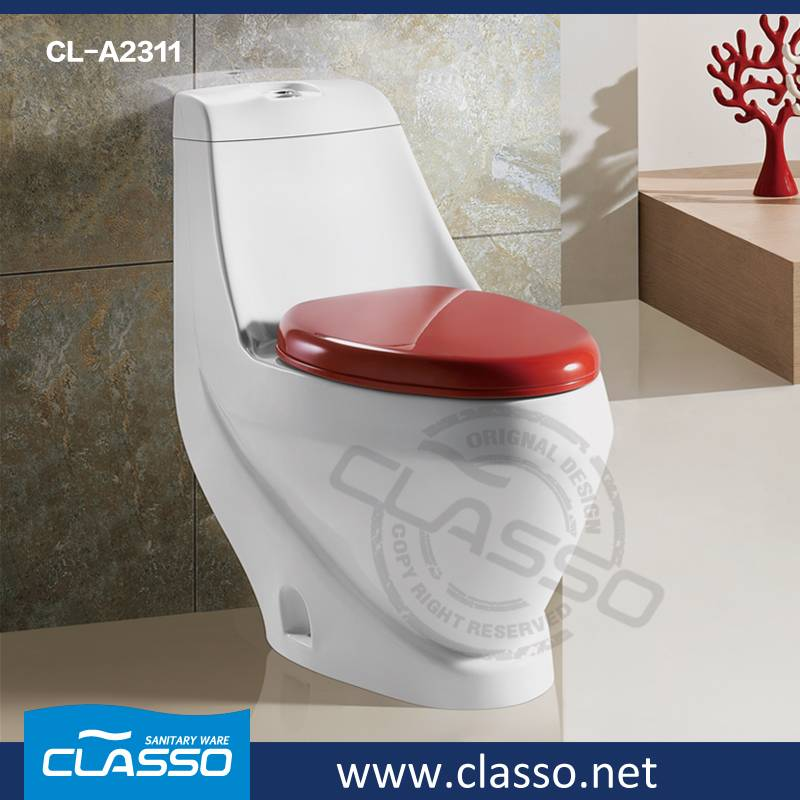 Hot Sale Top Hotel Bathroom Ceramic Sanitary Ware washdown toilet one piece closet CLASSO CL-A2311