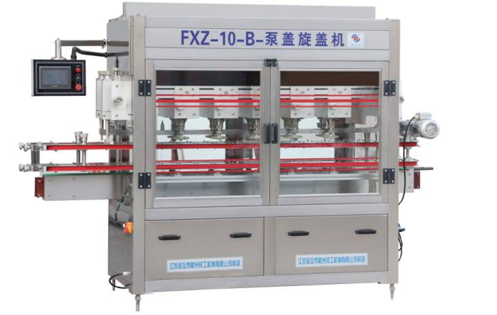 FXZ-10B With Pump Capping Machine