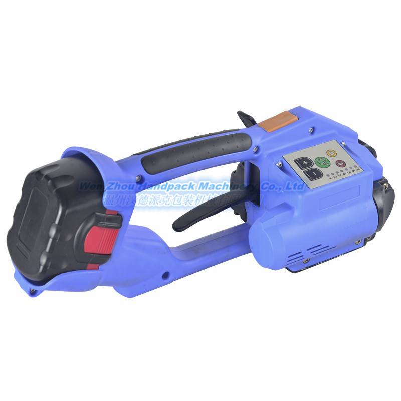 Battery powered strapping tool DD190