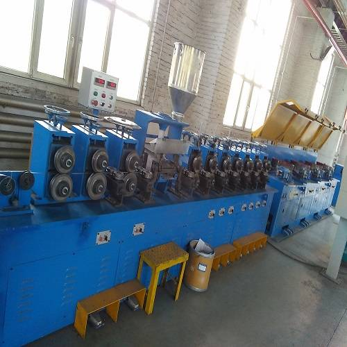 Customized flux cored welding wire equipment producing
