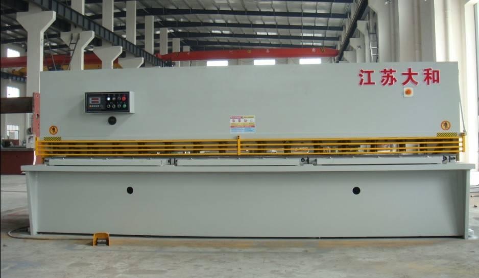 hydraulic swing beam shear QC12Y-12x2000