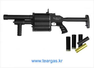 6 Shells Revolver Tear Gas Shell Launcher