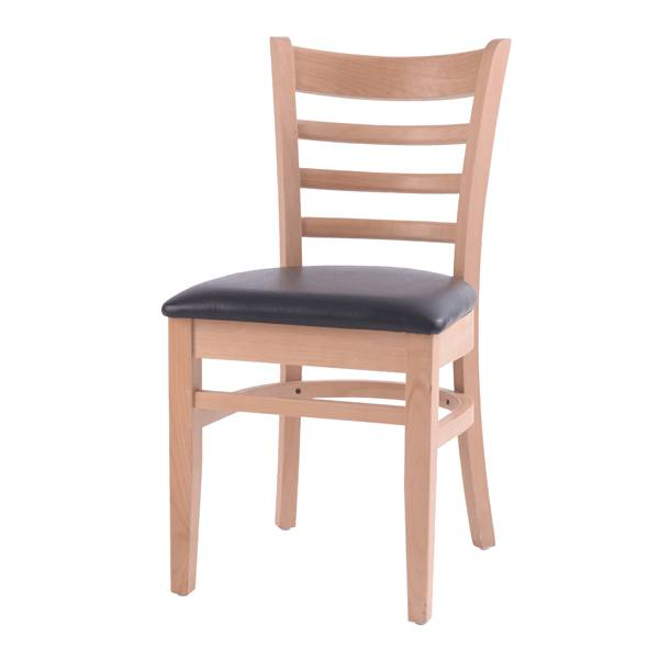 restaurant solid wooden chair and bar chair