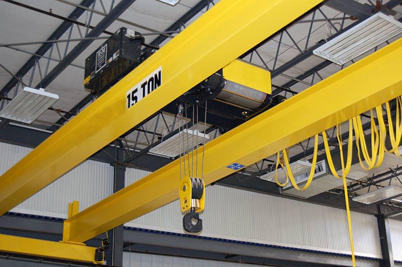 Hoist Material Lifting Machine Double Girder Overhead Crane