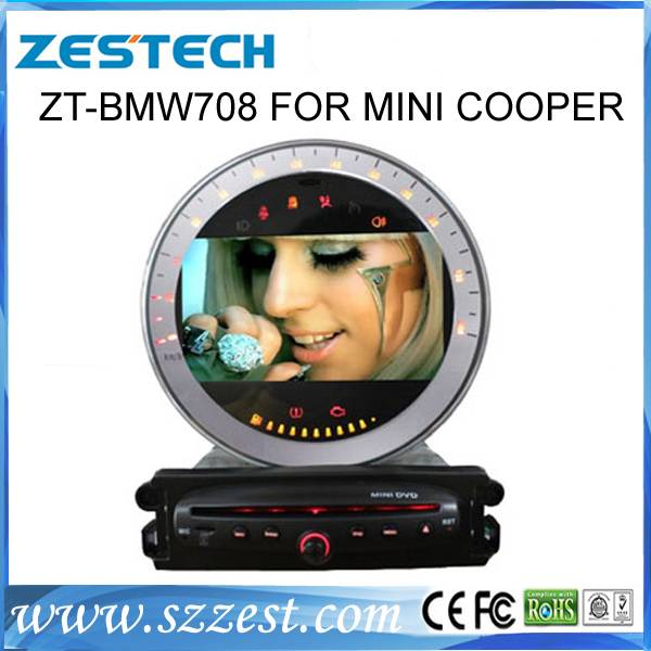 ZESTECH Car autoradios gps for bmw Mini Cooper & Smart, Rover Mini R55 R56 R57 R58 R59 R60 car dvd