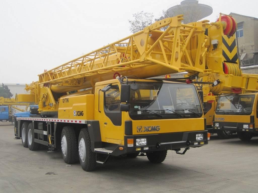 70 ton XCMG Truck Crane QY70K-I (QY70K)