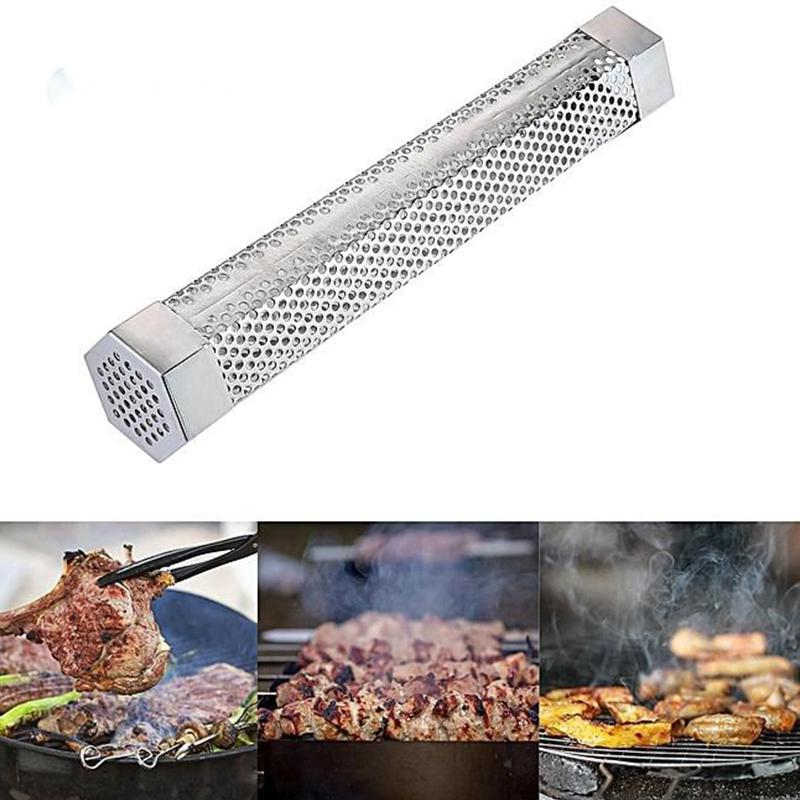 Hexagonal BBQ Smoking Tubes