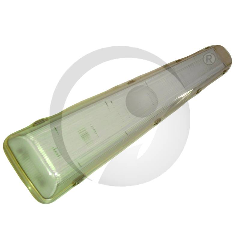T8 IP65 Waterproof Fluorescent Light Fixture