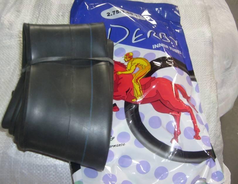 Derby Inner Tube for Uganda Market 300-17 300-18 275-17