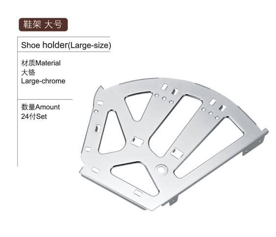 iron 3-layer shoe holder