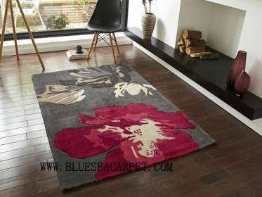 handtuffted acrylic carpets rugs
