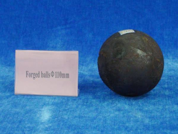 Forged steel media ball 110mm