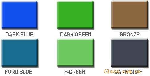 Colorized Float Glass