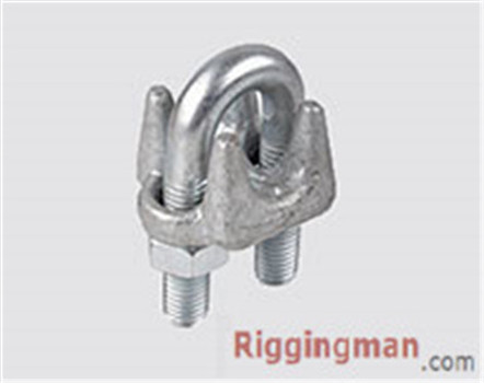 U.S TYPE DROP FORGED WIRE ROPE CLIP,H.D.G