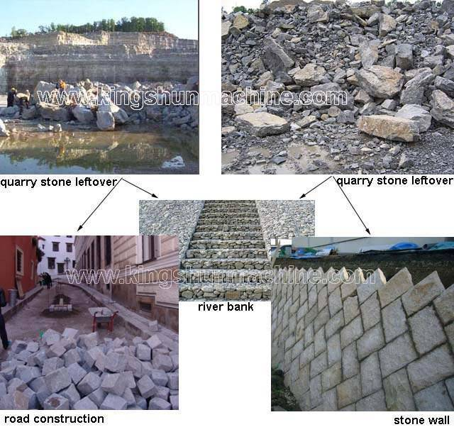 Utilization Of Leftover Stone