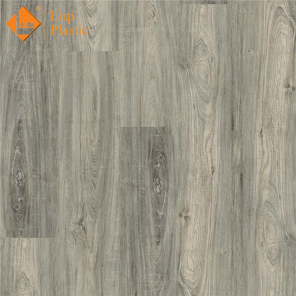 China factory supplied top quality anti-slip plastic vinyl floor tile dry back plank custom-made