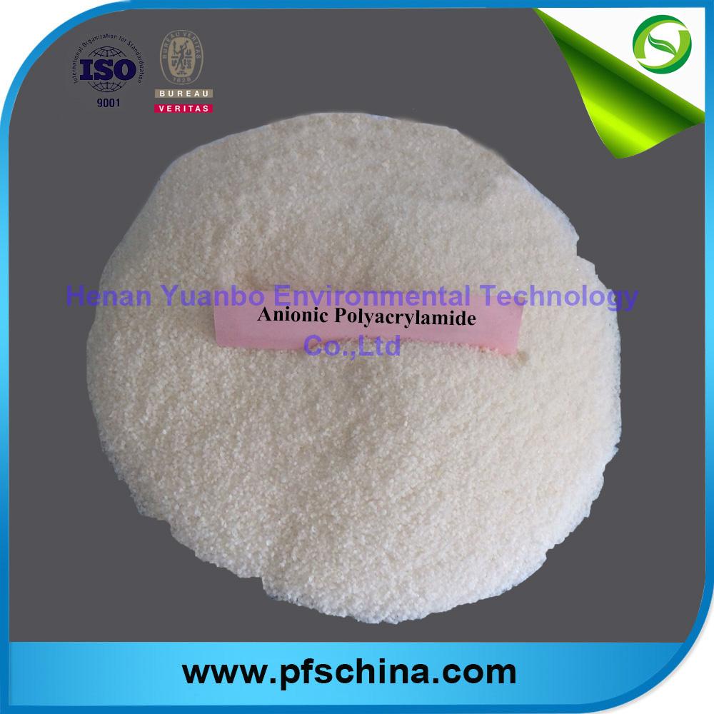 Anion polyacrylamide(PAM) powder for water treatment
