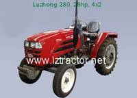 4WD By Wheel and New Condition Farm Tractor; Tractor-Luzhong 254