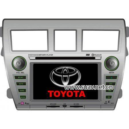 Fit Double-din Car DVD Video Player and GPS navigation Special for TOYOTA VIOS