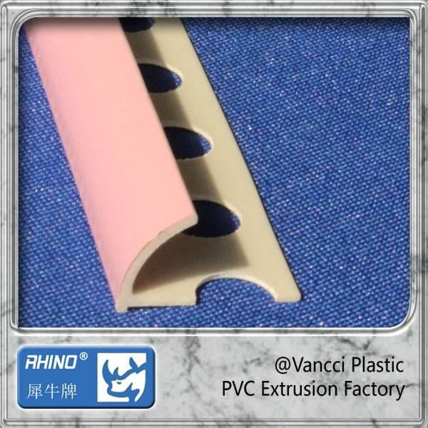 pvc round edge trim