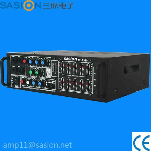 AV-9999 free sample ampplifier equalizer amplifier