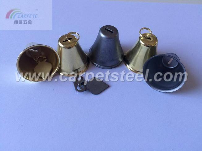 Custom metal parts, bell, small bells, golden bells,