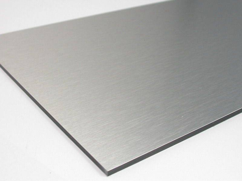 Silver Metallic Alucobond Aluminum Composite Material