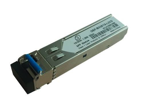 OEP-B351GX-03D Optical Transceivers 1.25G SFP BIDI Tx1310nm/Rx1550nm 3KM FP PIN