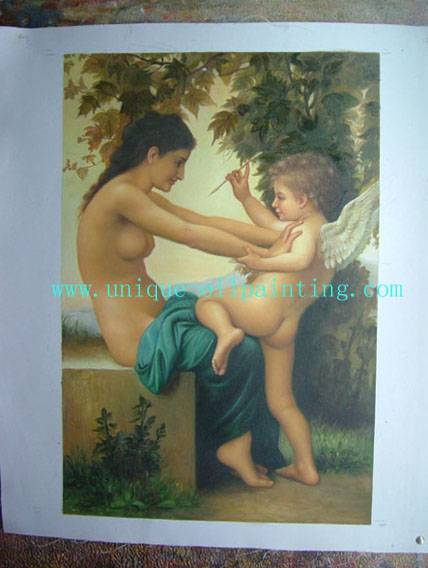 classical oil painting, figure oil painting, oil painting reproduction