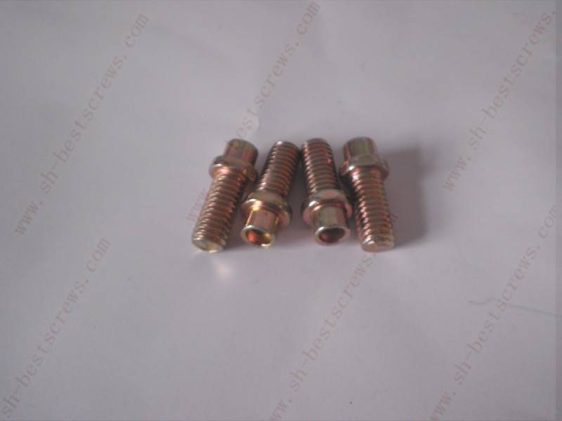 double head hex bolts with drilled holes bolts supplier cold forming specialty fasteners