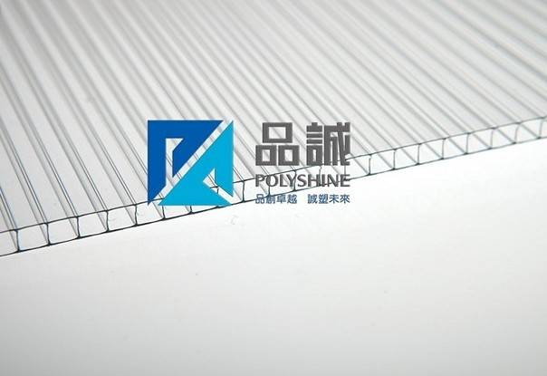 2-wall R-structure polycarbonate hollow sheet