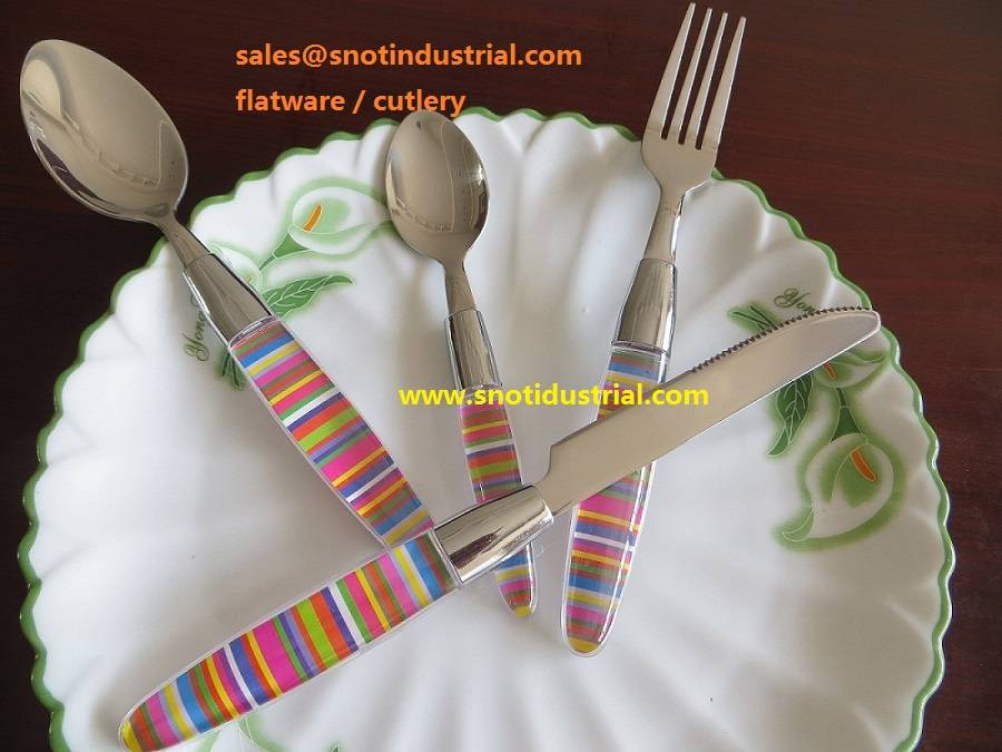 HOT-SALE FLATWARE WITH PS HANDLE ST6610