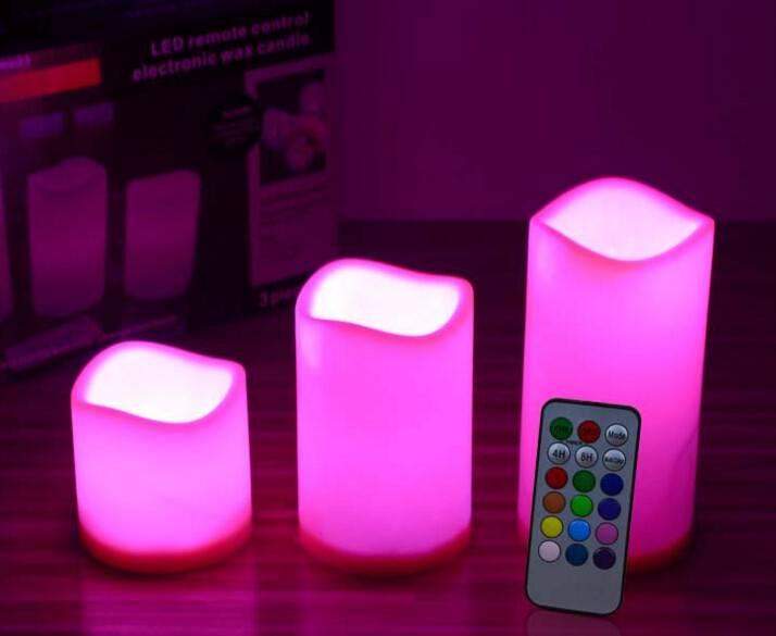 remote 18 key controller LED candle light for Club and hotel