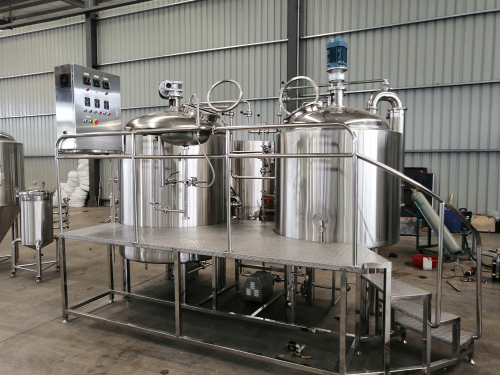 500L micro beer brewing equipment for microbrewery