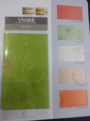 Beautiful jacquard roller blind ( Vivaldi )