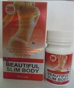 100% Natural Original Beautiful Slim Slimming Capsule