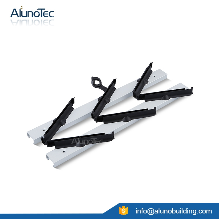 Aluminum Plastic Louver Frame SF-200