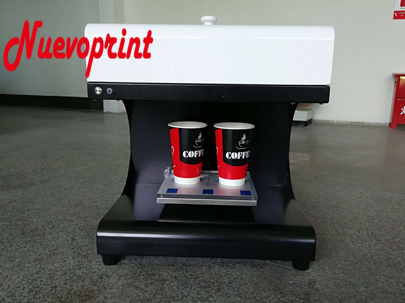 2018 best China coffee printer printing machine for sale NVP02CM